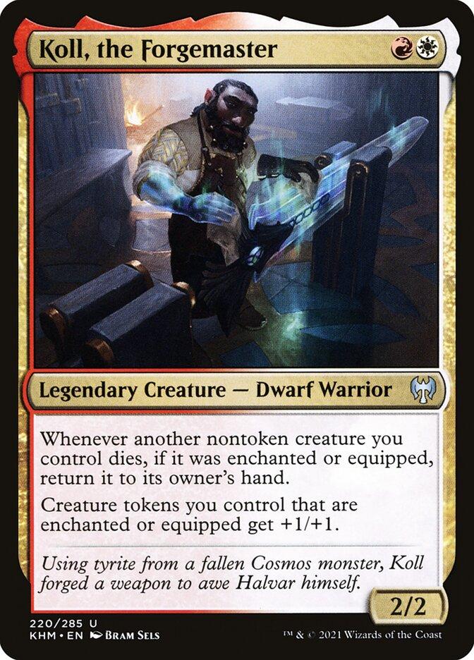 Carta /Koll, the Forgemaster de Magic the Gathering