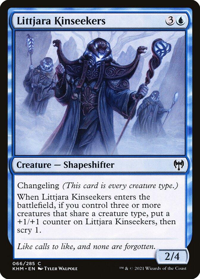 Carta /Littjara Kinseekers de Magic the Gathering