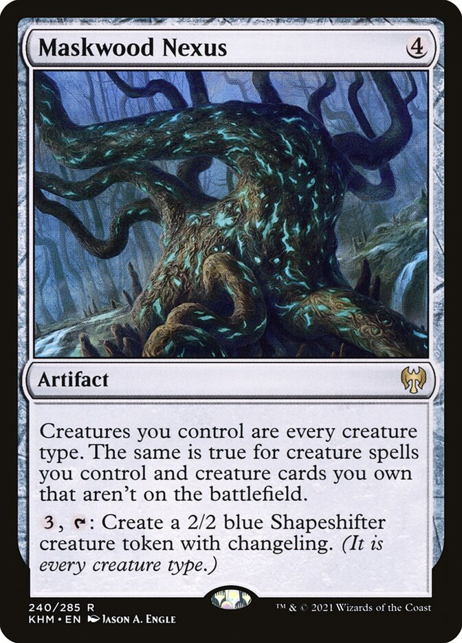 Carta /Maskwood Nexus de Magic the Gathering