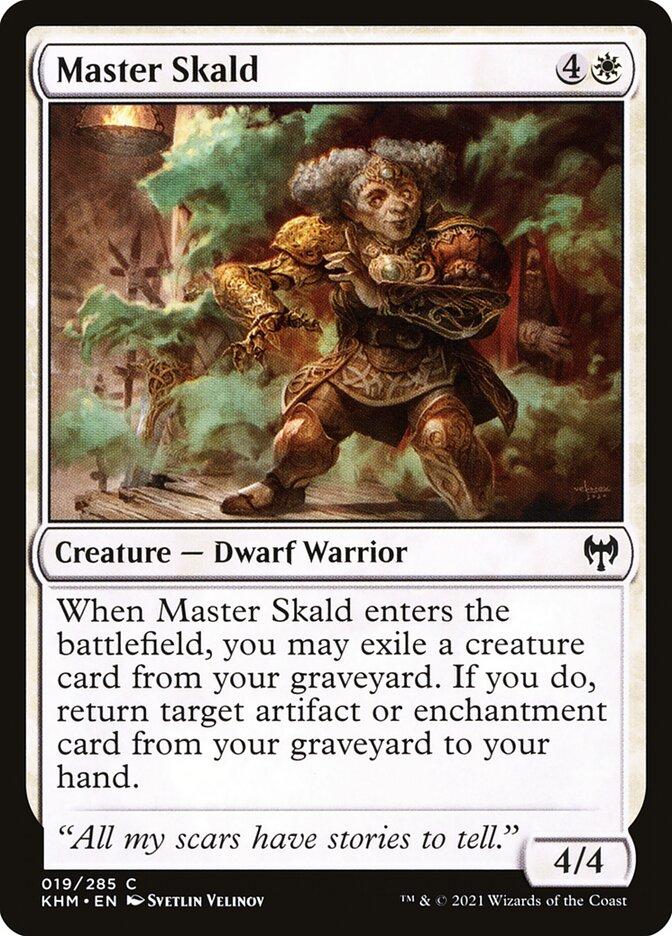 Carta /Master Skald de Magic the Gathering
