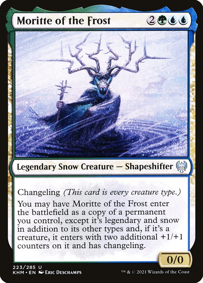 Carta /Moritte of the Frost de Magic the Gathering