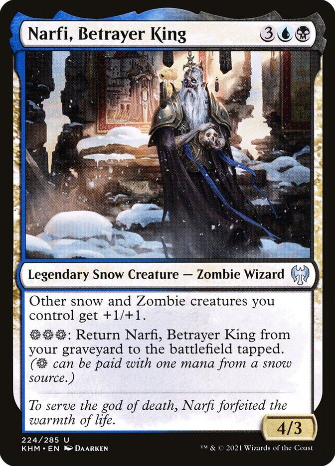 Carta /Narfi, Betrayer King de Magic the Gathering