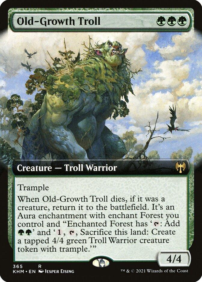 Carta /Old-Growth Troll de Magic the Gathering