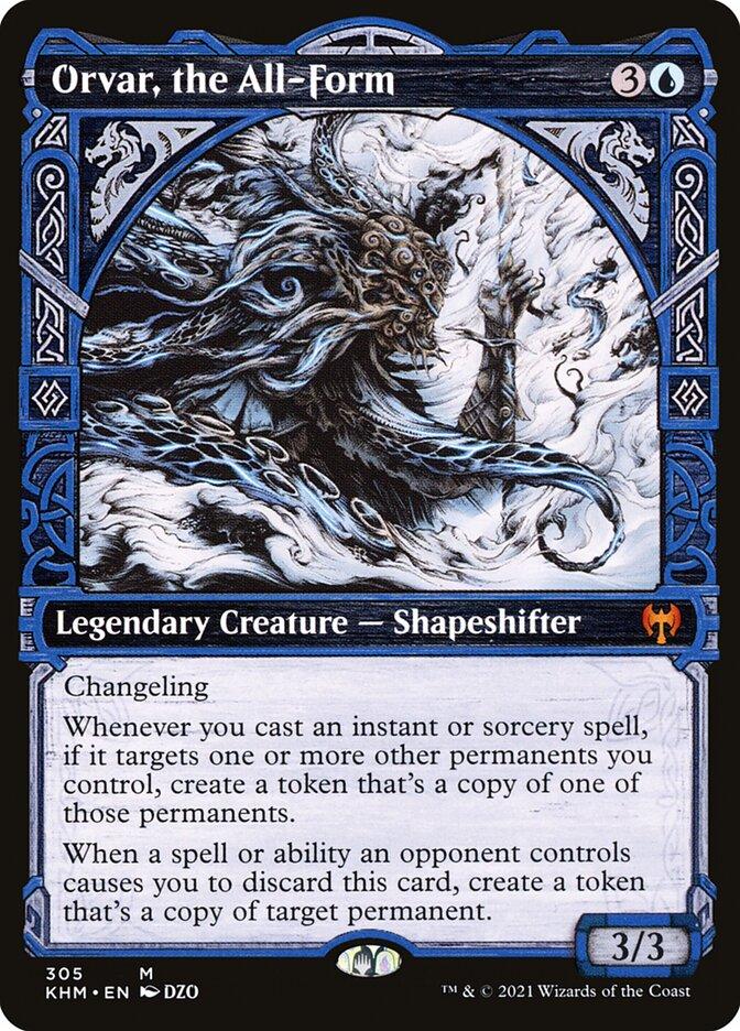 Carta /Orvar, the All-Form de Magic the Gathering