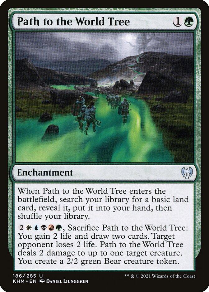 Carta /Path to the World Tree de Magic the Gathering