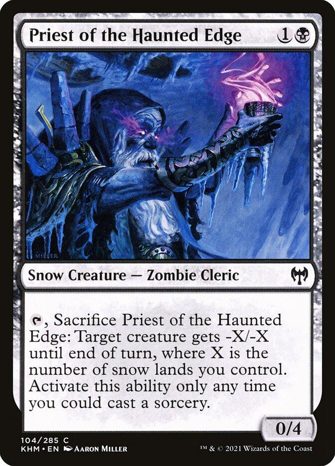 Carta /Priest of the Haunted Edge de Magic the Gathering