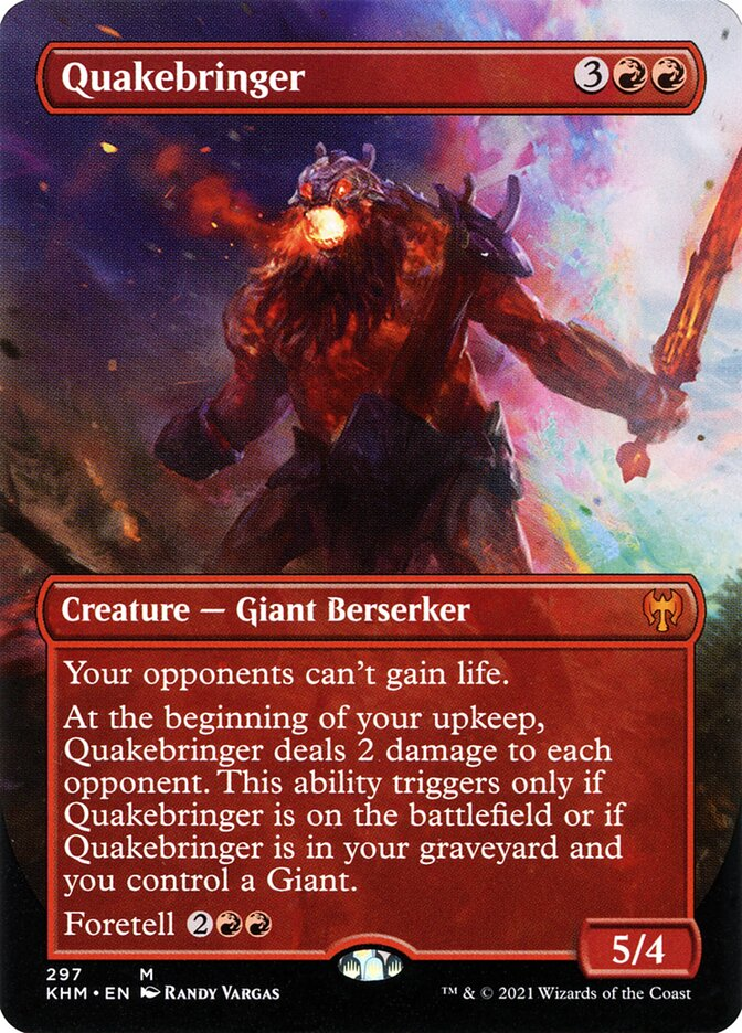 Carta /Quakebringer de Magic the Gathering