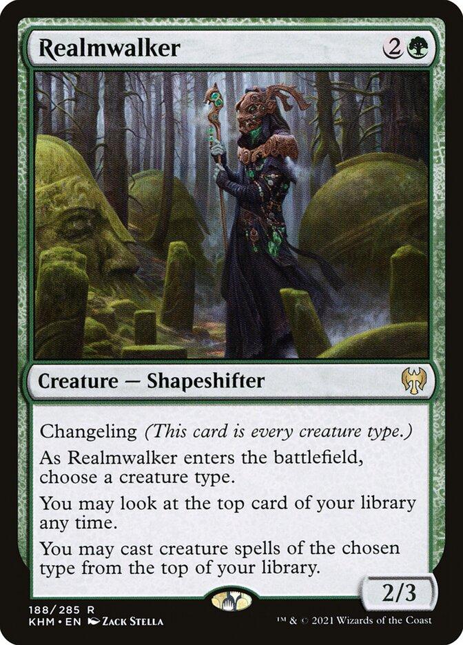 Carta /Realmwalker de Magic the Gathering