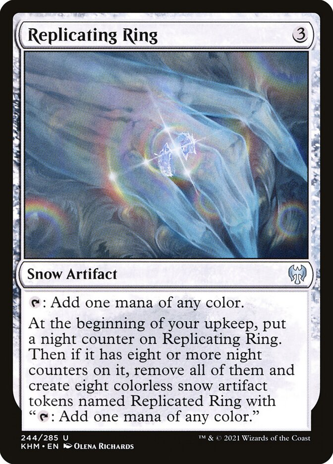 Carta /Replicating Ring de Magic the Gathering