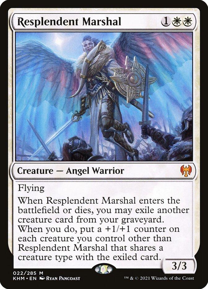 Carta /Resplendent Marshal de Magic the Gathering