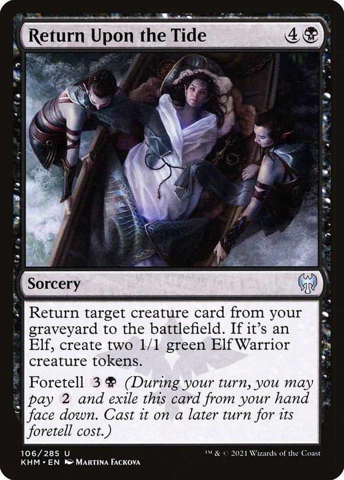 Carta /Return Upon the Tide de Magic the Gathering