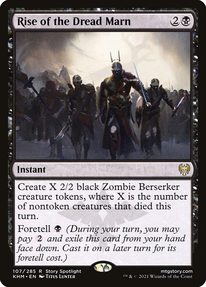 Carta /Rise of the Dread Marn de Magic the Gathering