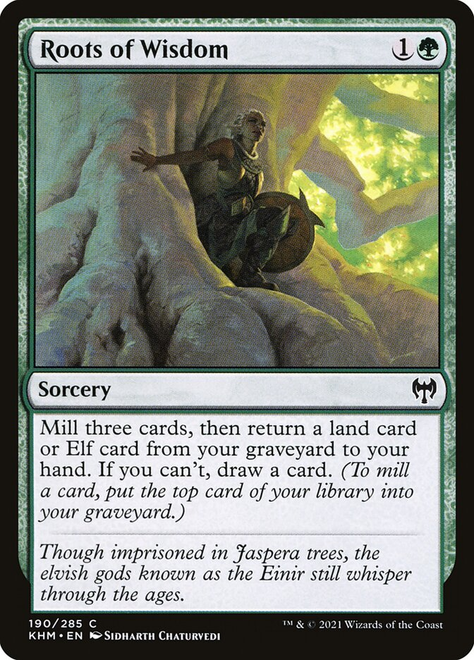 Carta /Roots of Wisdom de Magic the Gathering