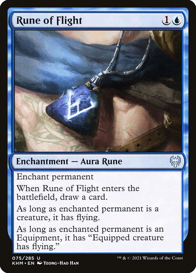 Carta /Rune of Flight de Magic the Gathering