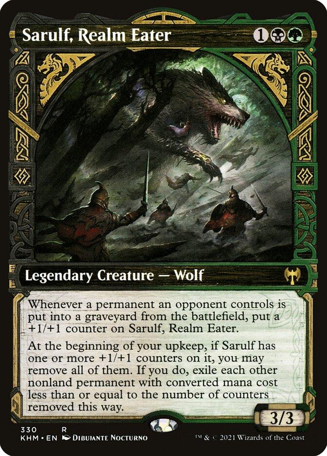 Carta /Sarulf, Realm Eater de Magic the Gathering