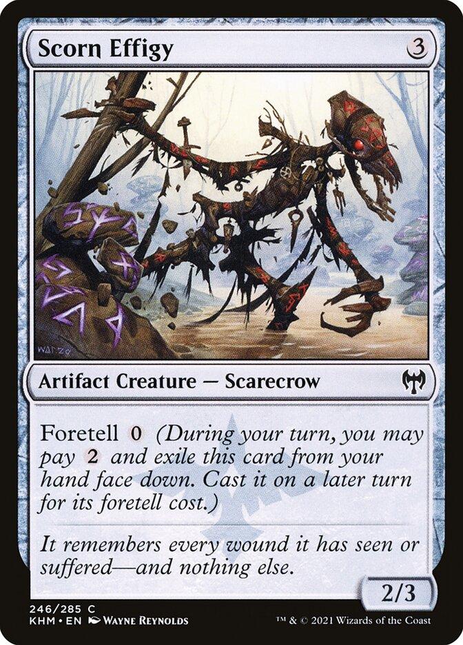 Carta /Scorn Effigy de Magic the Gathering