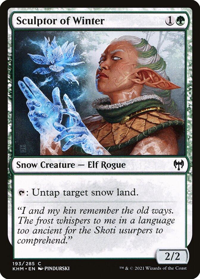 Carta /Sculptor of Winter de Magic the Gathering