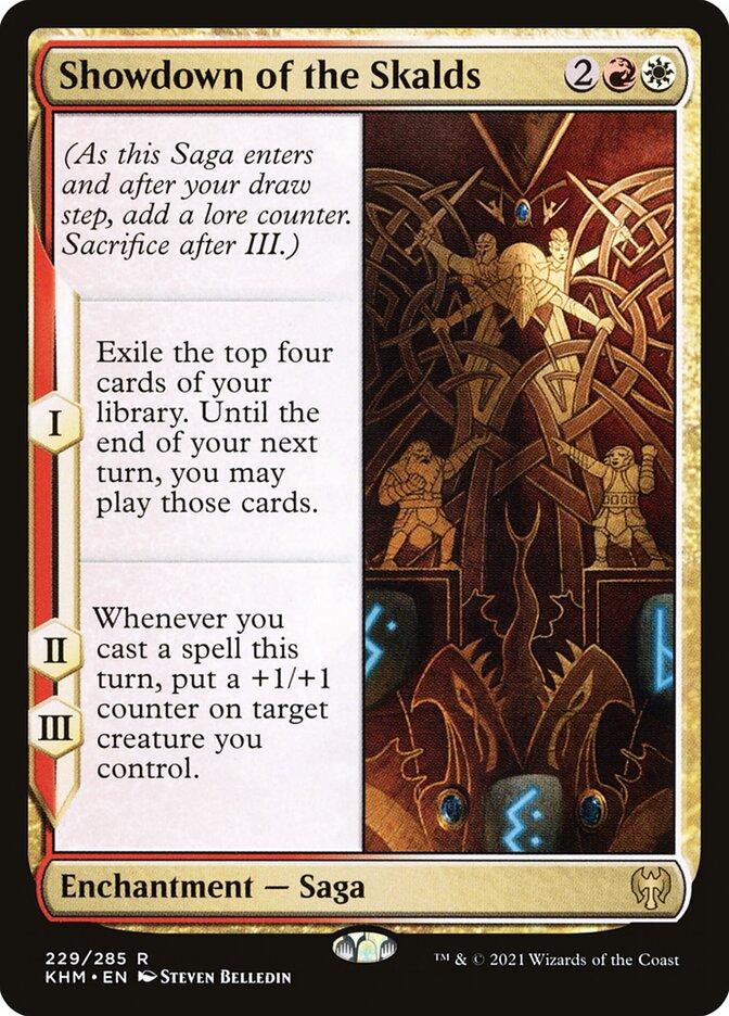 Carta /Showdown of the Skalds de Magic the Gathering