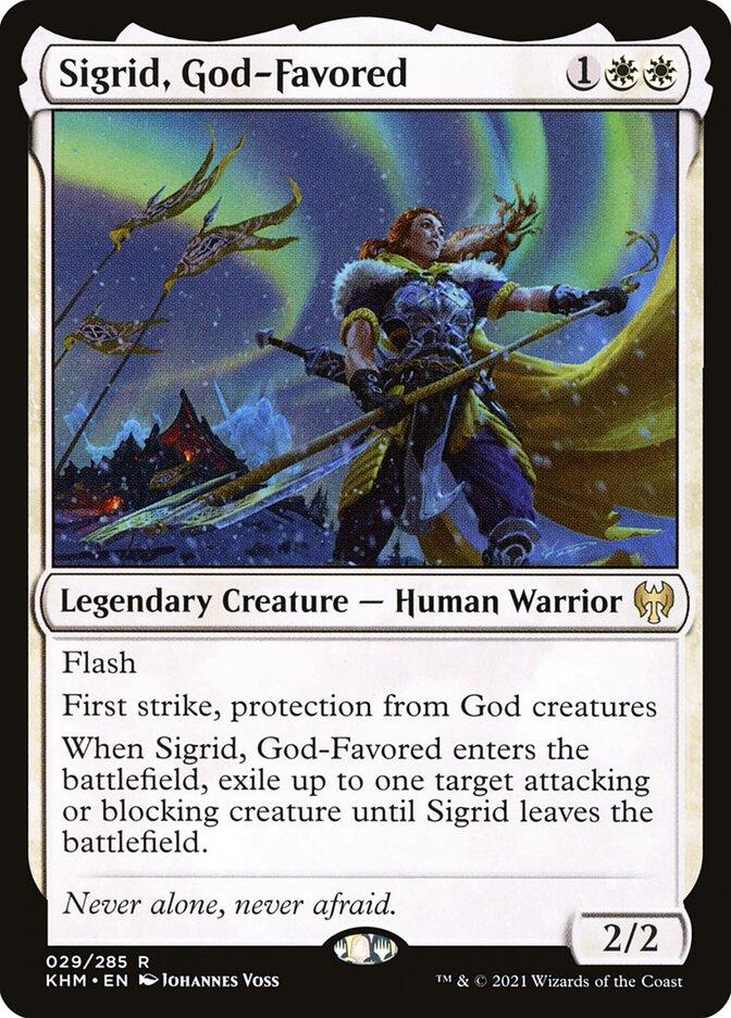 Carta /Sigrid, God-Favored de Magic the Gathering
