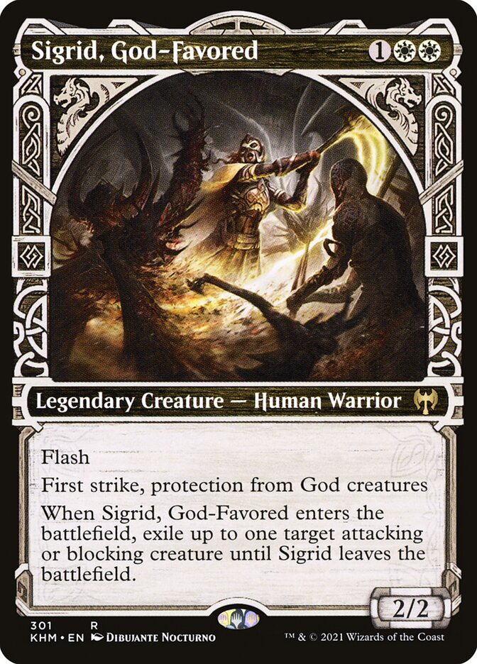 Carta /Sigrid, God-Favored de Magic the Gathering