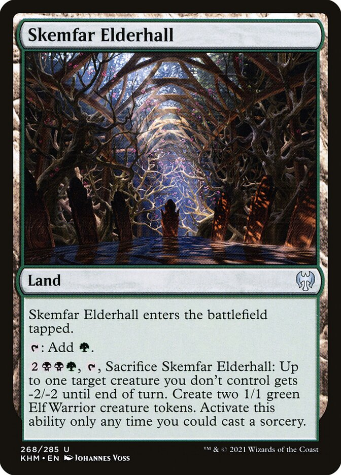 Carta /Skemfar Elderhall de Magic the Gathering