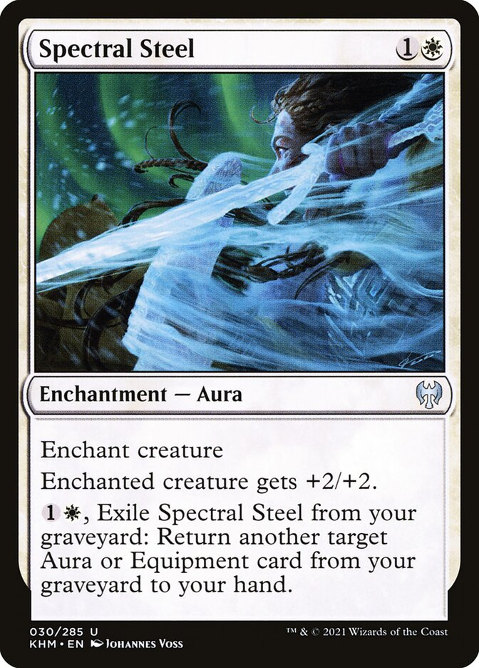 Carta /Spectral Steel de Magic the Gathering