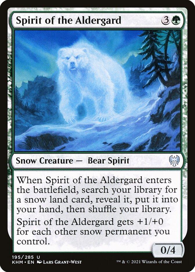 Carta /Spirit of the Aldergard de Magic the Gathering