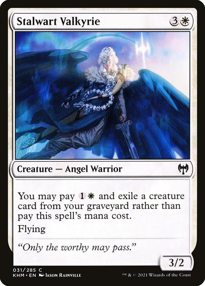 Carta /Stalwart Valkyrie de Magic the Gathering