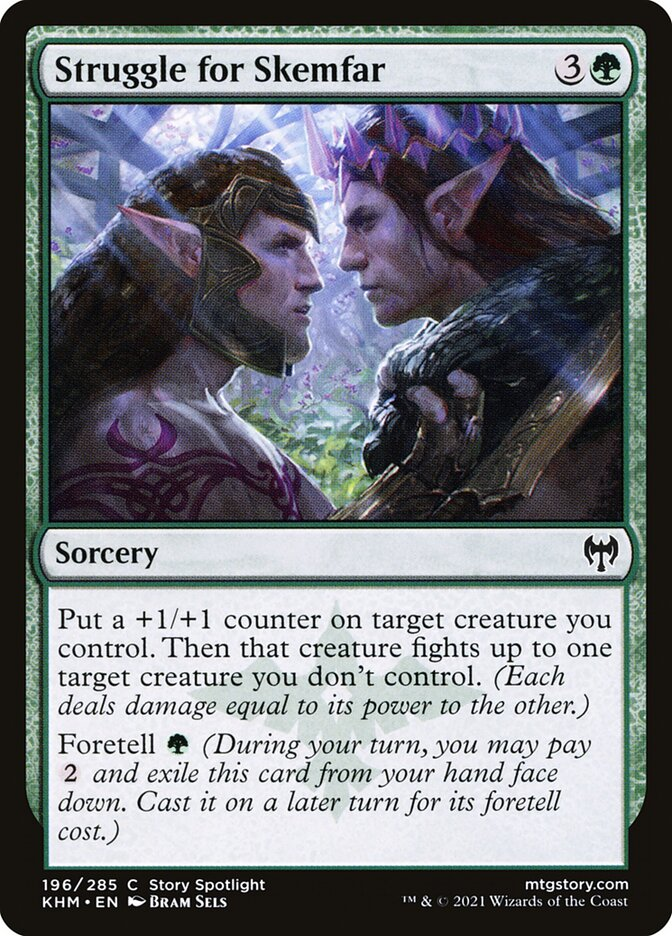 Carta /Struggle for Skemfar de Magic the Gathering