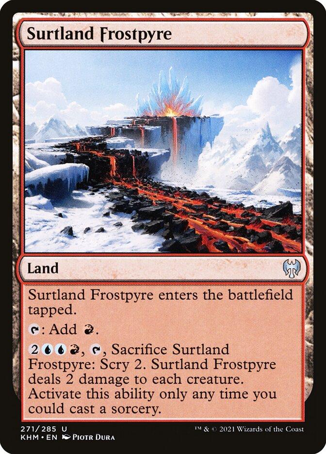 Carta /Surtland Frostpyre de Magic the Gathering