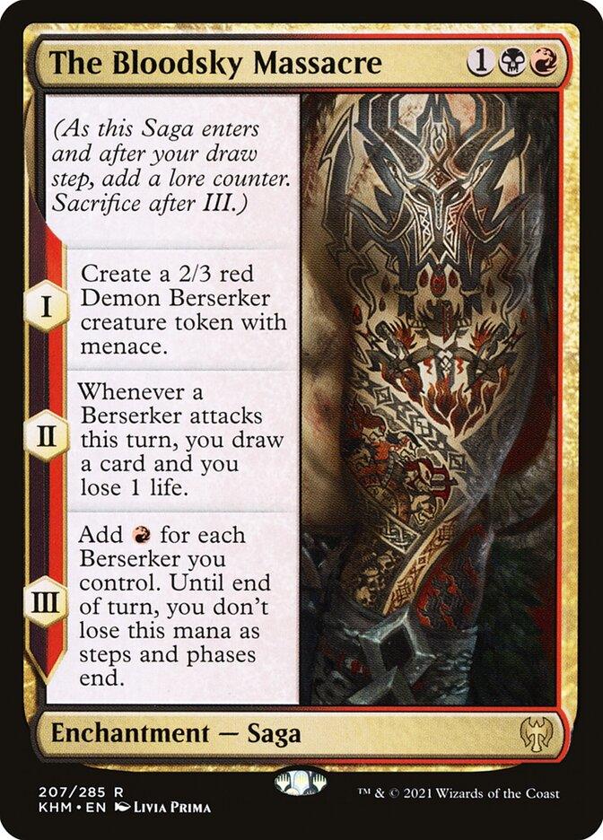 Carta /The Bloodsky Massacre de Magic the Gathering