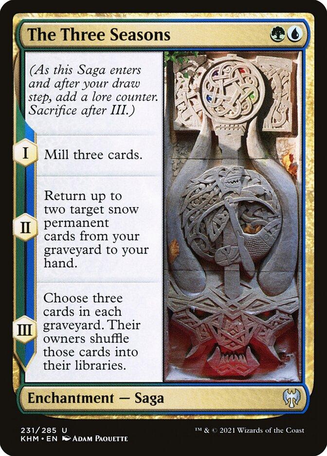 Carta /The Three Seasons de Magic the Gathering