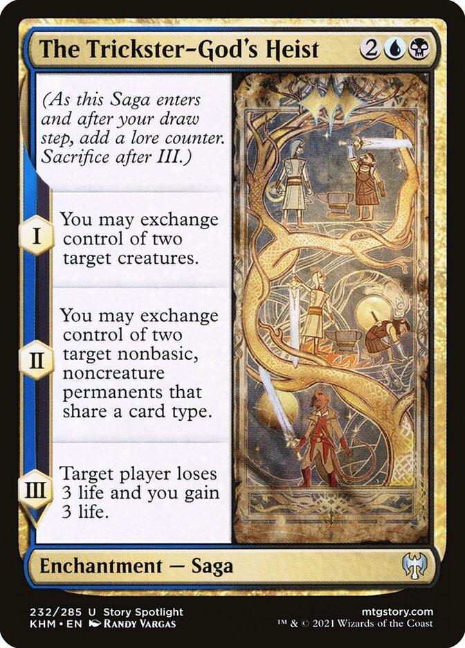 Carta /The Trickster-God's Heist de Magic the Gathering