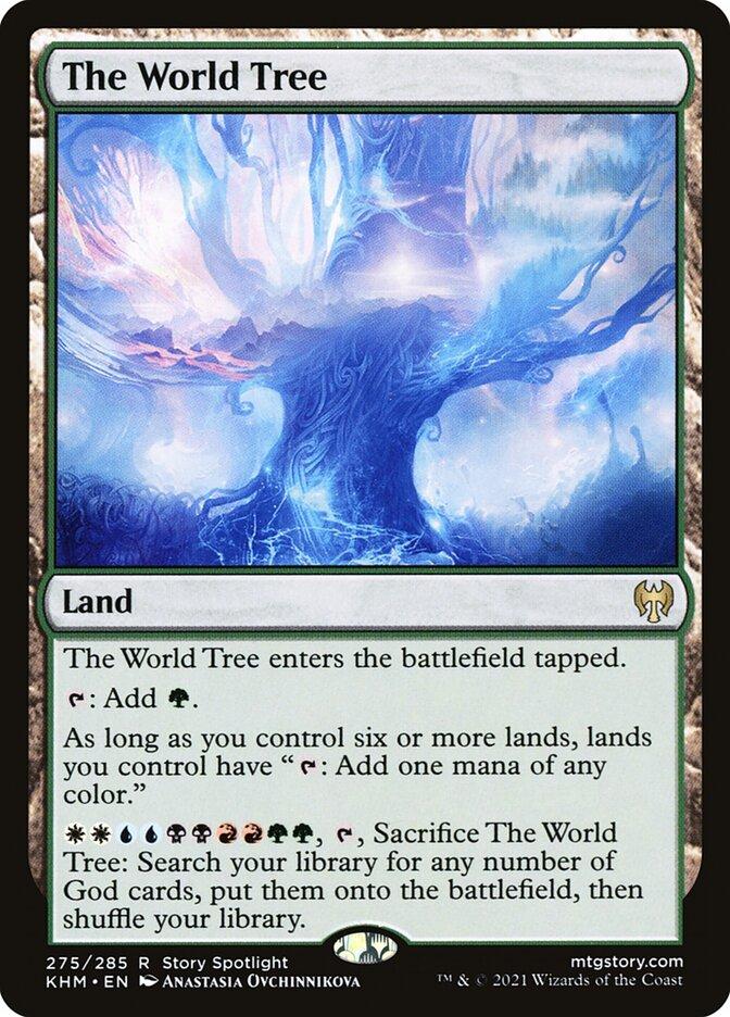 Carta /The World Tree de Magic the Gathering
