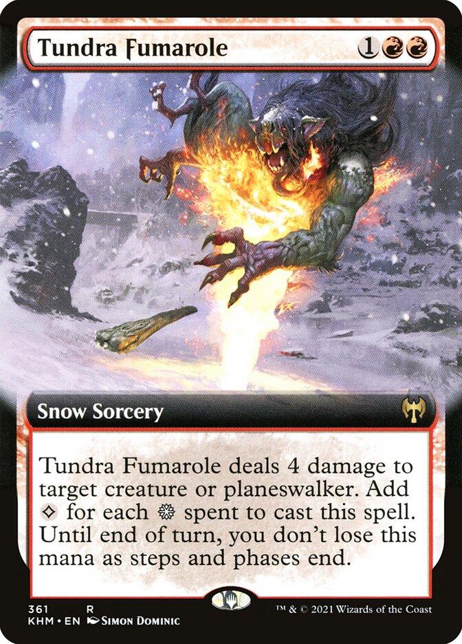 Carta /Tundra Fumarole de Magic the Gathering