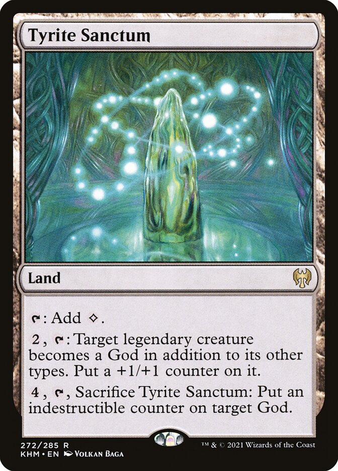 Carta /Tyrite Sanctum de Magic the Gathering