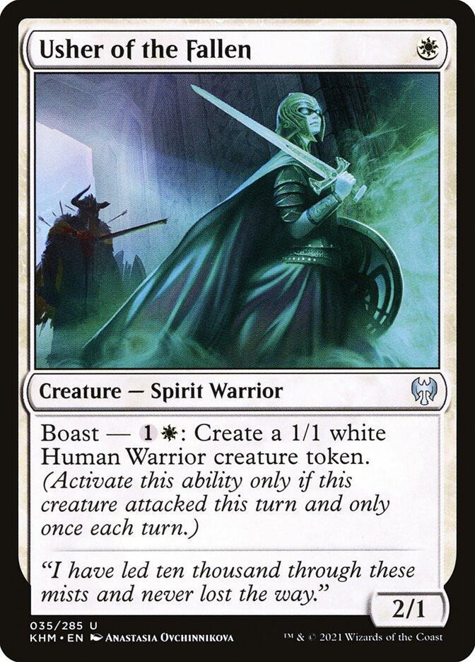 Carta /Usher of the Fallen de Magic the Gathering