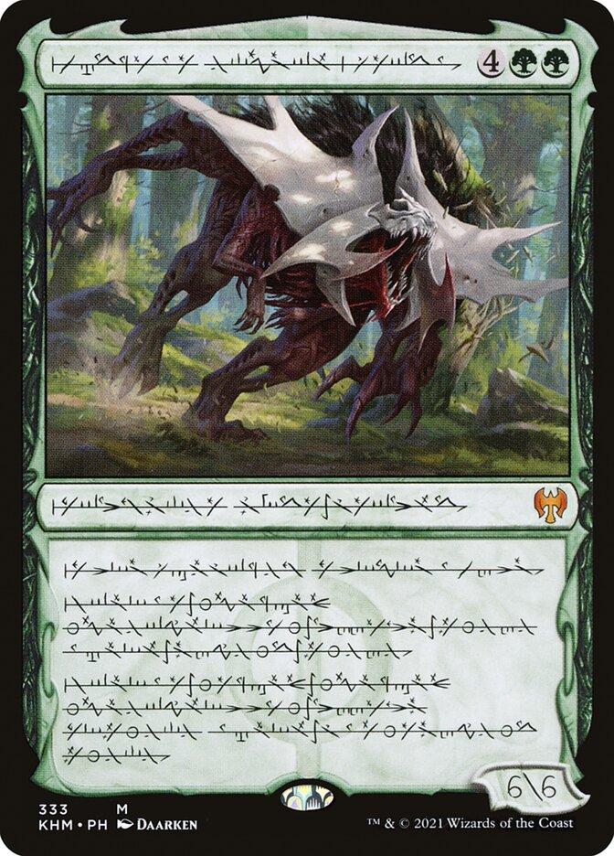 Carta /Vorinclex, Monstrous Raider de Magic the Gathering