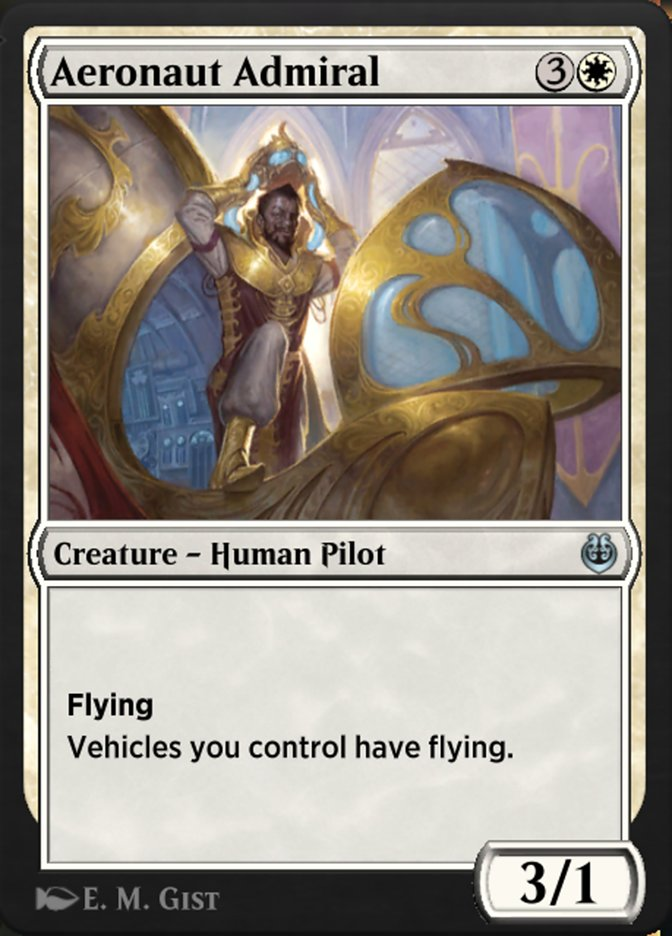 Carta /Aeronaut Admiral de Magic the Gathering