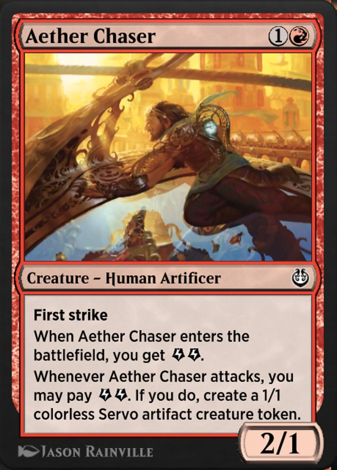 Carta /Aether Chaser de Magic the Gathering