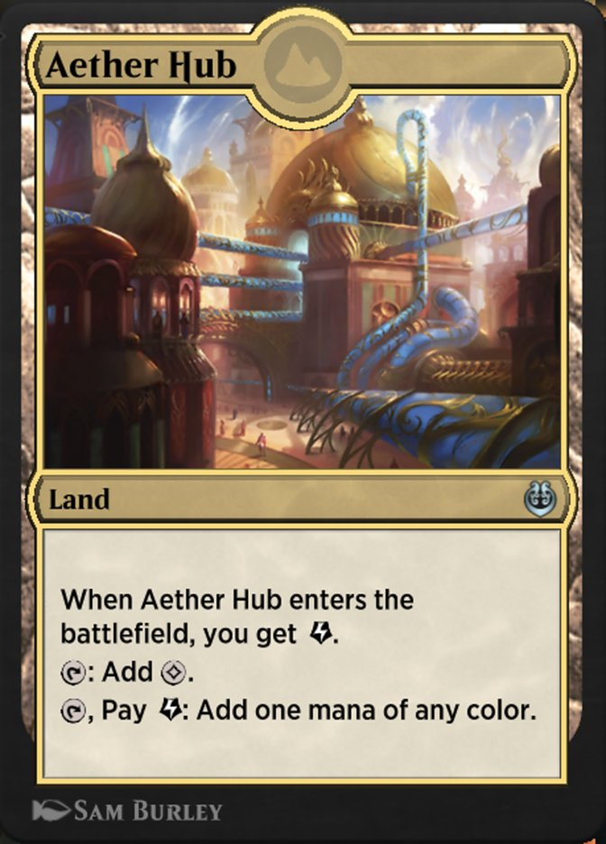 Carta /Aether Hub de Magic the Gathering