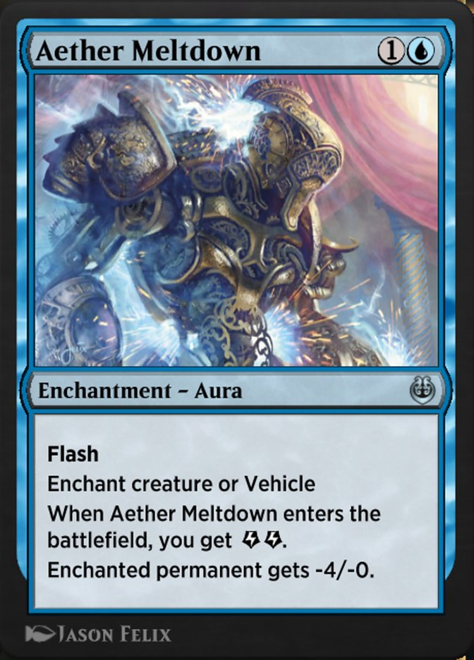 Carta /Aether Meltdown de Magic the Gathering