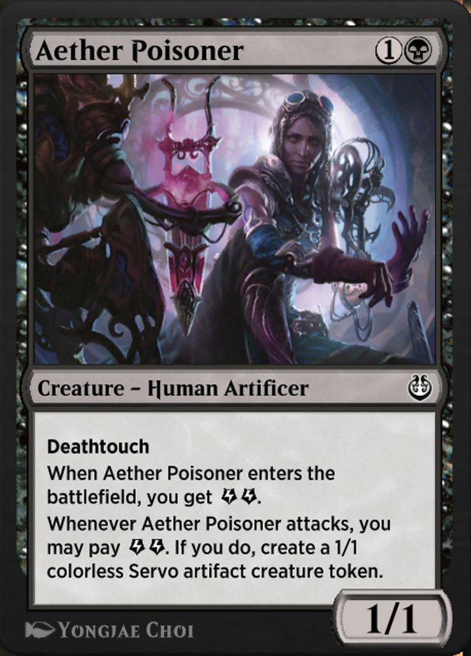 Carta /Aether Poisoner de Magic the Gathering