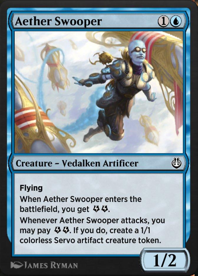 Carta /Aether Swooper de Magic the Gathering