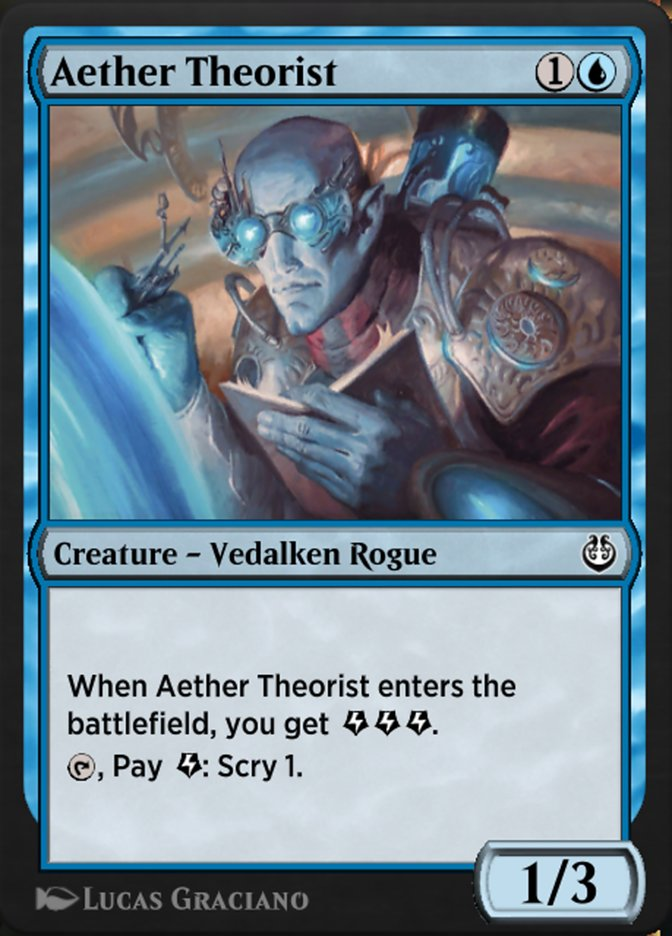 Carta /Aether Theorist de Magic the Gathering