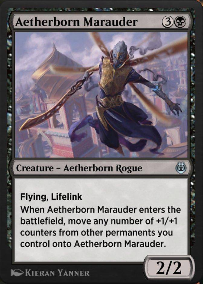 Carta /Aetherborn Marauder de Magic the Gathering