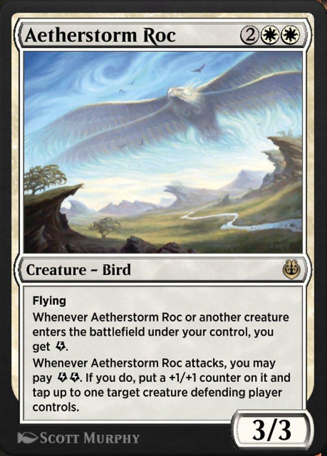Carta /Aetherstorm Roc de Magic the Gathering