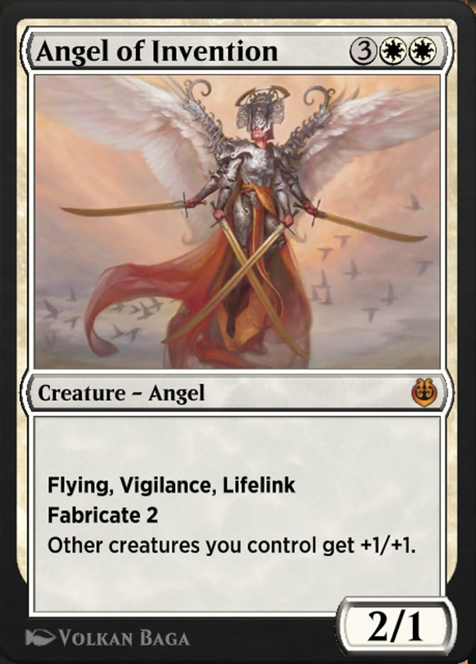 Carta /Angel of Invention de Magic the Gathering