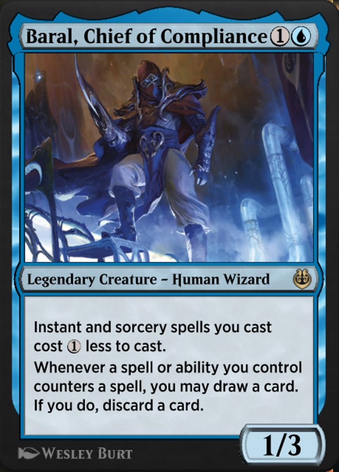 Carta /Baral, Chief of Compliance de Magic the Gathering