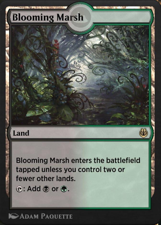 Carta /Blooming Marsh de Magic the Gathering